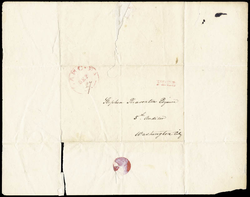 Image 3 for President James Buchanan - Autograph Letter Signed 09/26/1822 - HFSID 5235