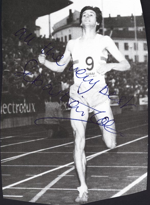 Image 1 for Sebastian Coe - Autographed Signed Photograph - HFSID 52676