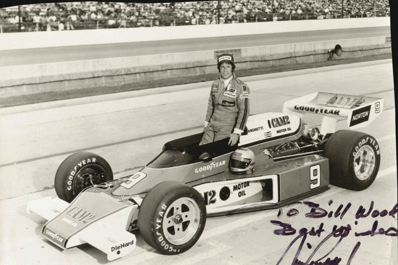 Image 1 for Mario Andretti - Autographed Inscribed Photograph - HFSID 52745
