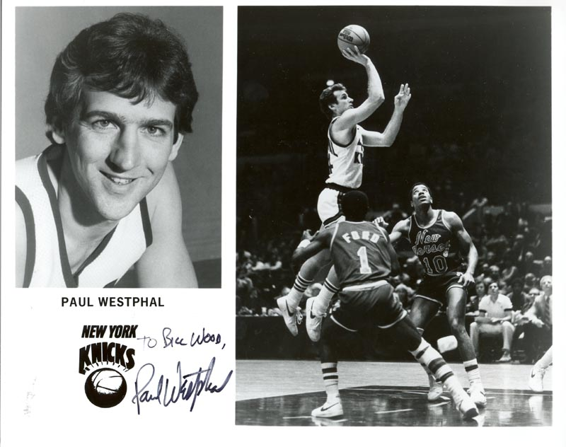 Image 1 for Paul Westphal - Autographed Inscribed Photograph - HFSID 52782