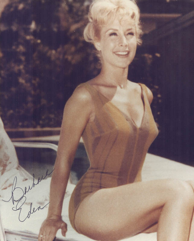 Image 1 for Barbara Eden - Autographed Signed Photograph - HFSID 53953