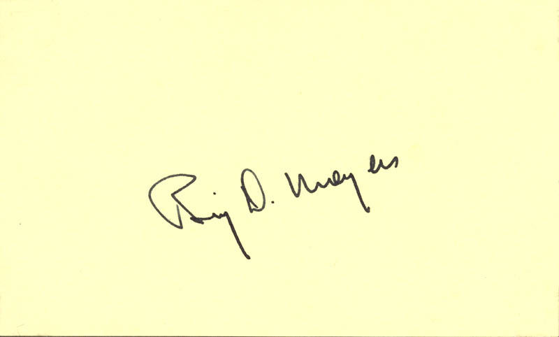 Image 1 for Bill Moyers - Autograph - HFSID 54158