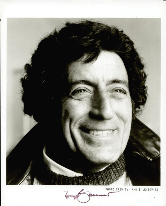 Image 1 for Tony Bennett - Autographed Signed Photograph - HFSID 54350