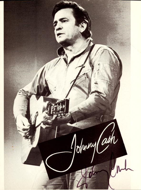 Image 1 for Johnny Cash - Magazine Photograph Signed - HFSID 54379