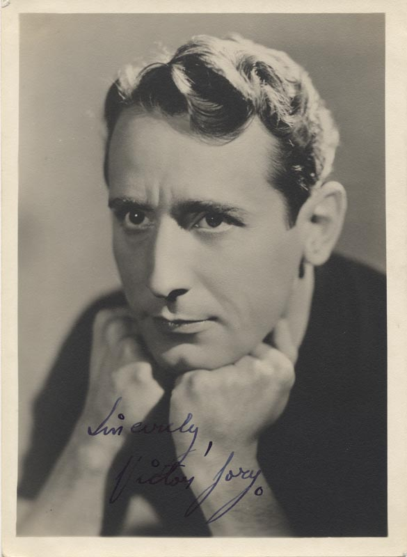 Image 1 for Victor Jory - Autographed Signed Photograph - HFSID 54450