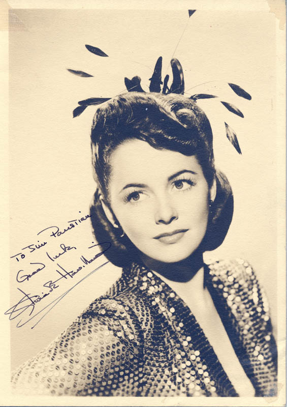 Image 1 for Olivia De Havilland - Autographed Inscribed Photograph - HFSID 54469