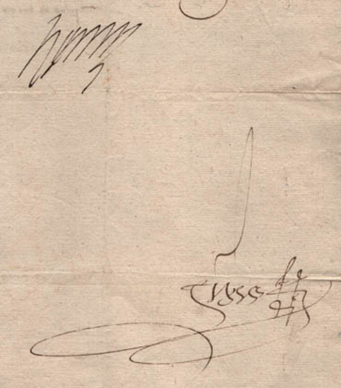 Image 3 for King Henry III (France) - Letter Signed 03/23/1578 - HFSID 54791
