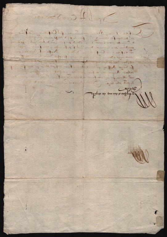 Image 4 for King Henry III (France) - Letter Signed 03/23/1578 - HFSID 54791