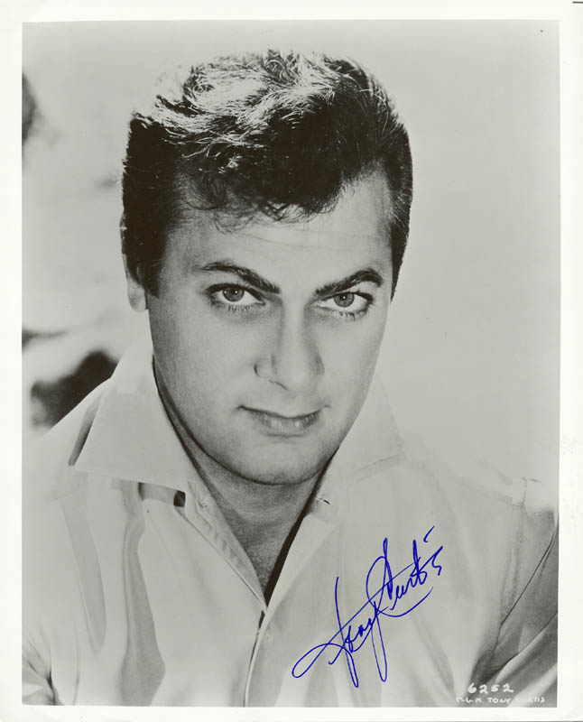 Image 1 for Tony Curtis - Autographed Signed Photograph - HFSID 5497