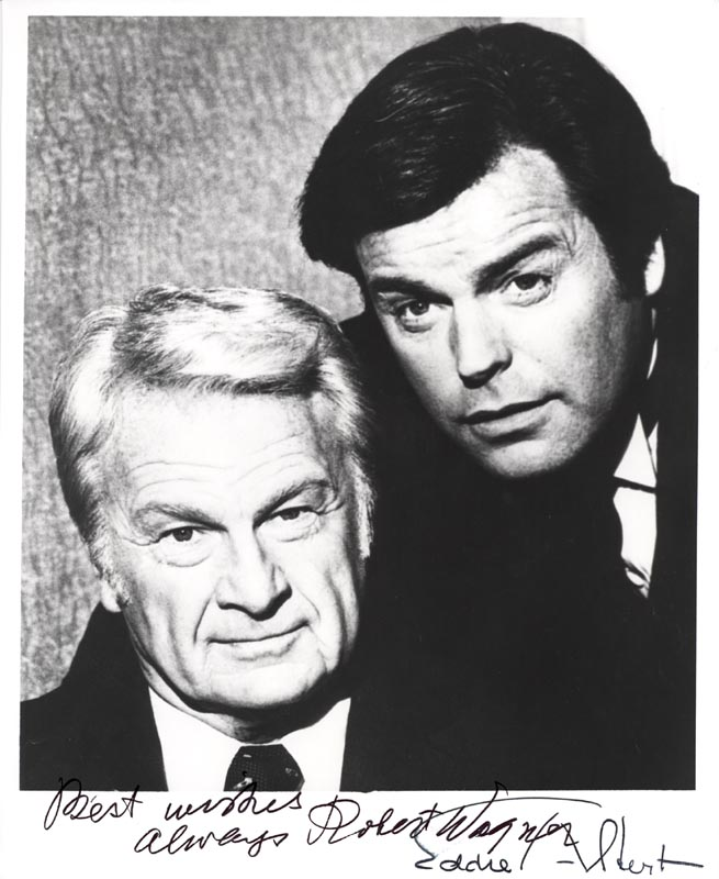 Image 1 for Switch TV Cast - Autographed Signed Photograph co-signed by: Eddie Albert, Robert J. Wagner - HFSID 55016