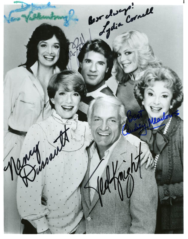 Image 1 for Too Close For Comfort TV Cast - Autographed Signed Photograph with co-signers - HFSID 55058