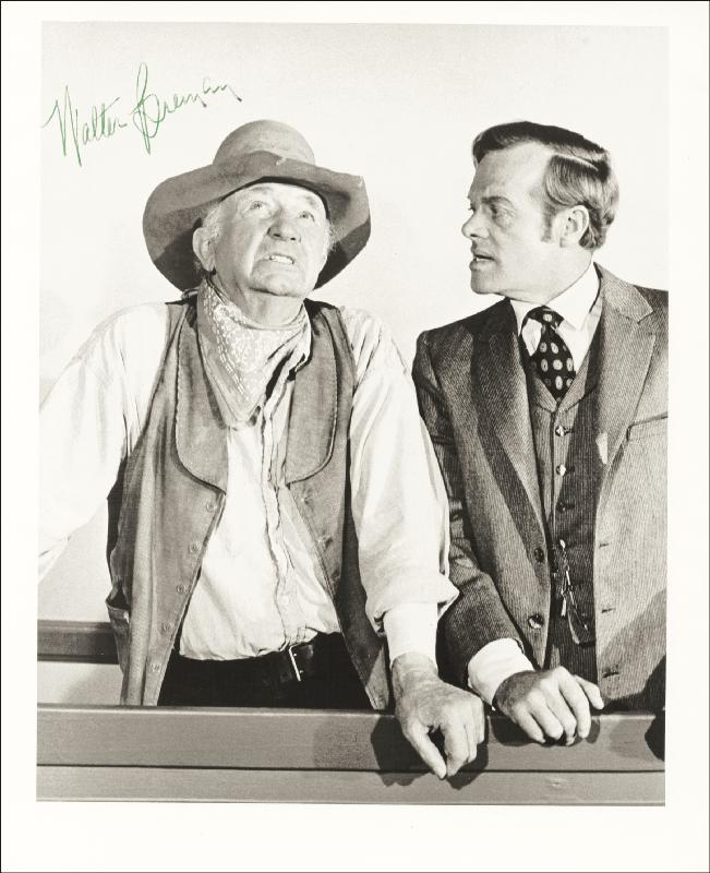 Image 1 for Walter Brennan - Autographed Signed Photograph - HFSID 55080