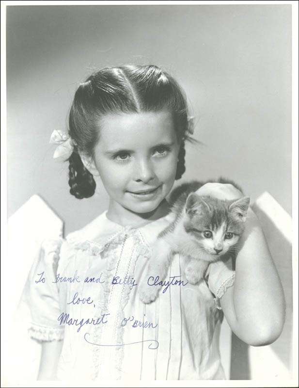 Image 1 for Margaret O'Brien - Autographed Inscribed Photograph - HFSID 55230
