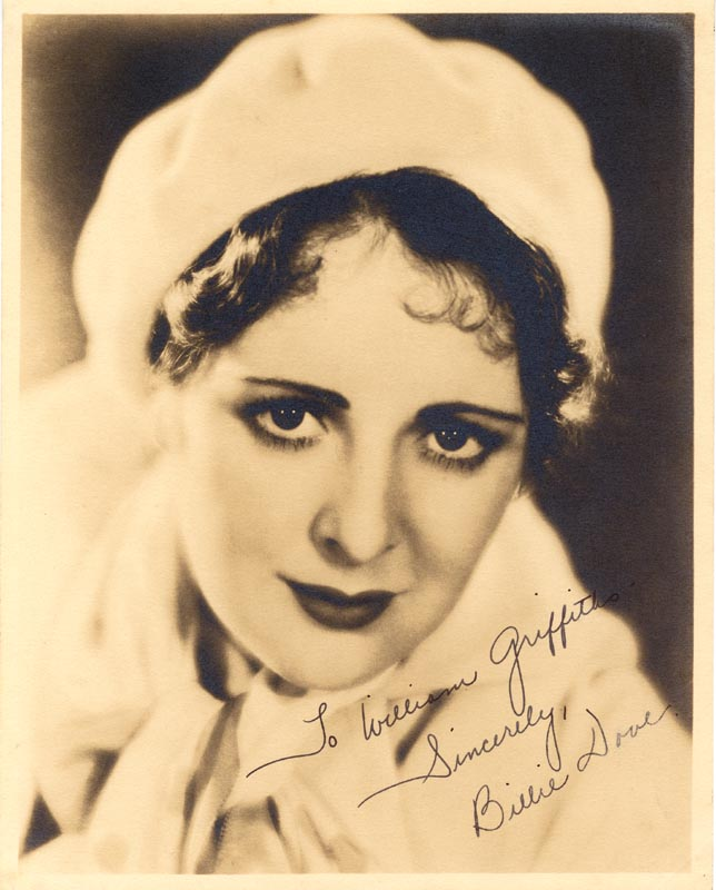 Image 1 for Billie Dove - Autographed Inscribed Photograph - HFSID 55463
