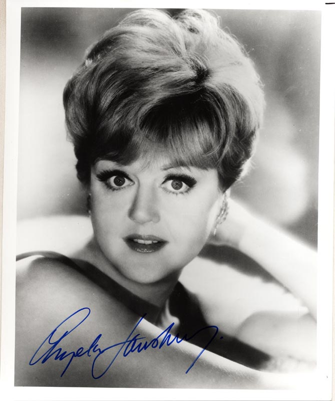 Image 1 for Angela Lansbury - Autographed Signed Photograph - HFSID 55526