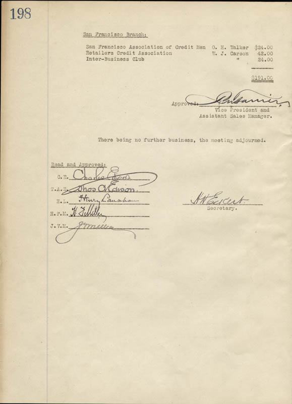 Image 1 for Thomas A. Edison - Corporate Minutes Signed 01/27/1926 with co-signers - HFSID 55580