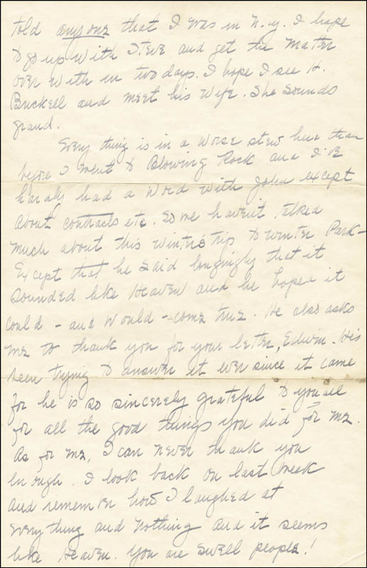 Image 4 for Margaret Mitchell - Autograph Letter Signed 07/27/1936 - HFSID 55643