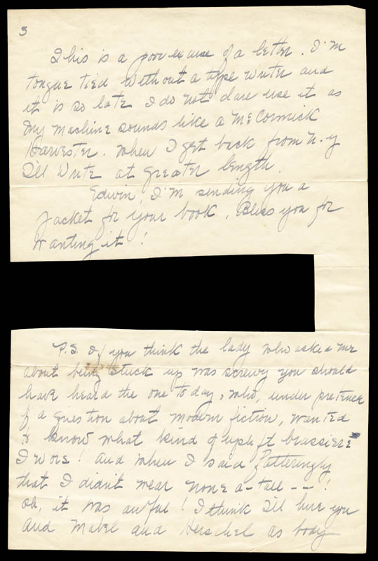 Image 5 for Margaret Mitchell - Autograph Letter Signed 07/27/1936 - HFSID 55643
