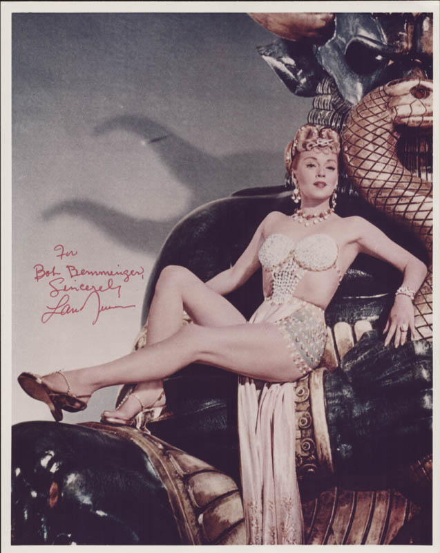 Image 1 for Lana Turner - Autographed Inscribed Photograph - HFSID 5566