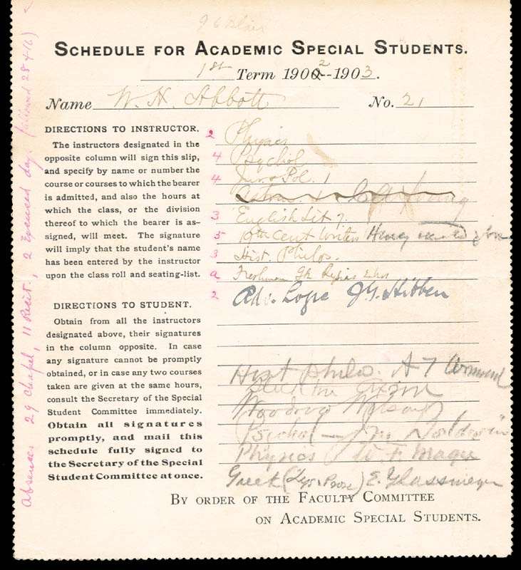Image 3 for President Woodrow Wilson - Document Signed Circa 1902 - HFSID 55769