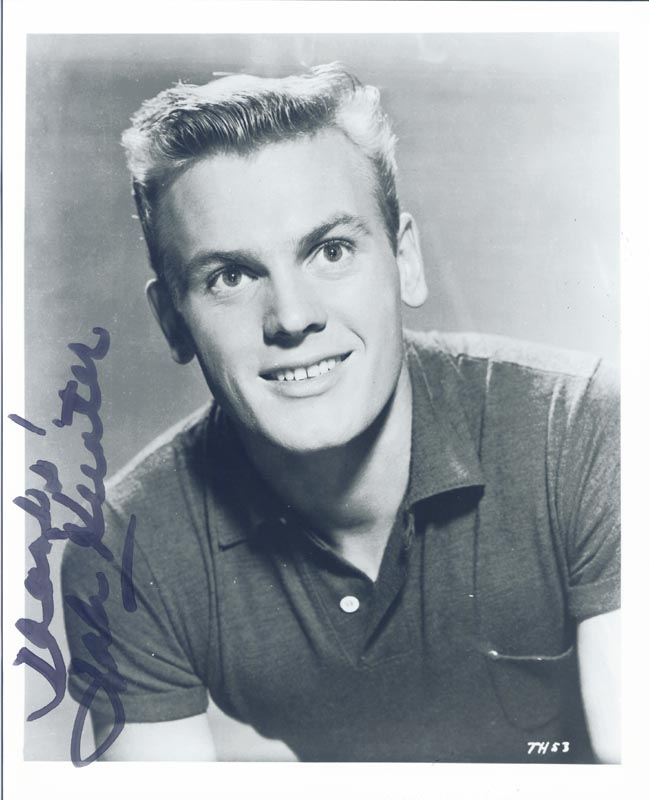 Image 1 for Tab Hunter - Autographed Signed Photograph - HFSID 55892