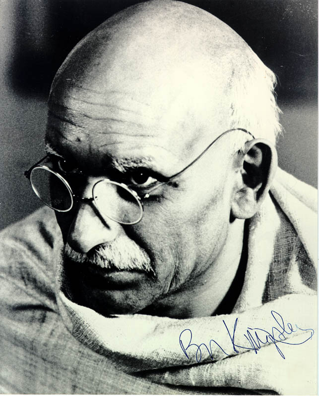 Image 1 for Ben Kingsley - Autographed Signed Photograph - HFSID 55948