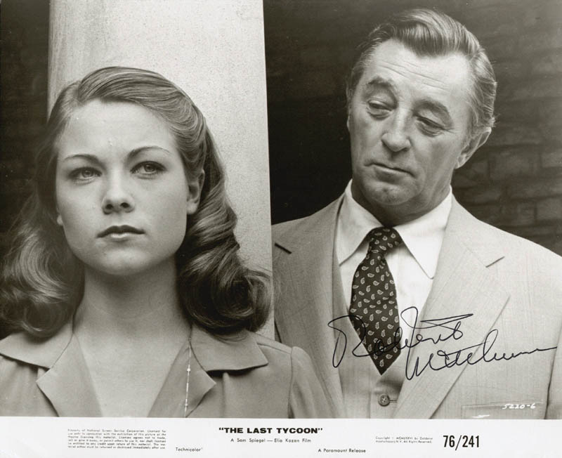 Image 1 for Robert Mitchum - Autographed Signed Photograph - HFSID 55976