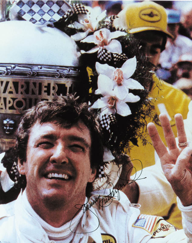 Image 1 for Johnny Rutherford - Autographed Signed Photograph - HFSID 56131