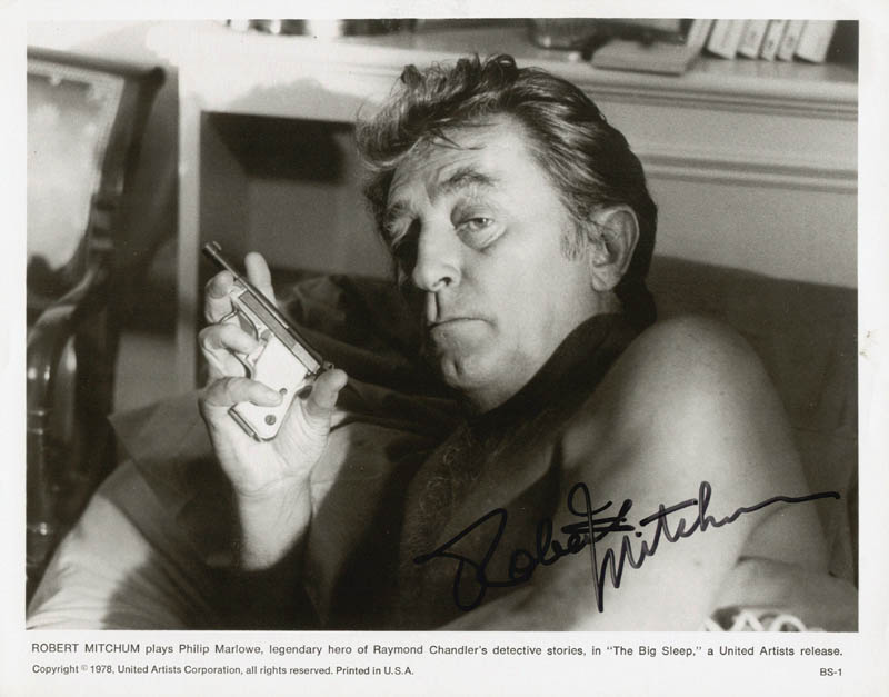 Image 1 for Robert Mitchum - Autographed Signed Photograph - HFSID 56458