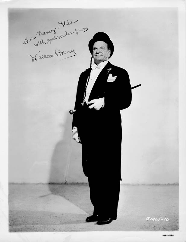 Image 1 for Wallace Beery - Autographed Inscribed Photograph - HFSID 56489