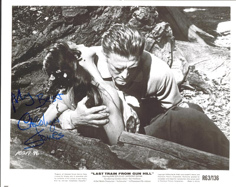 Image 1 for Carolyn Jones - Autographed Signed Photograph - HFSID 56498