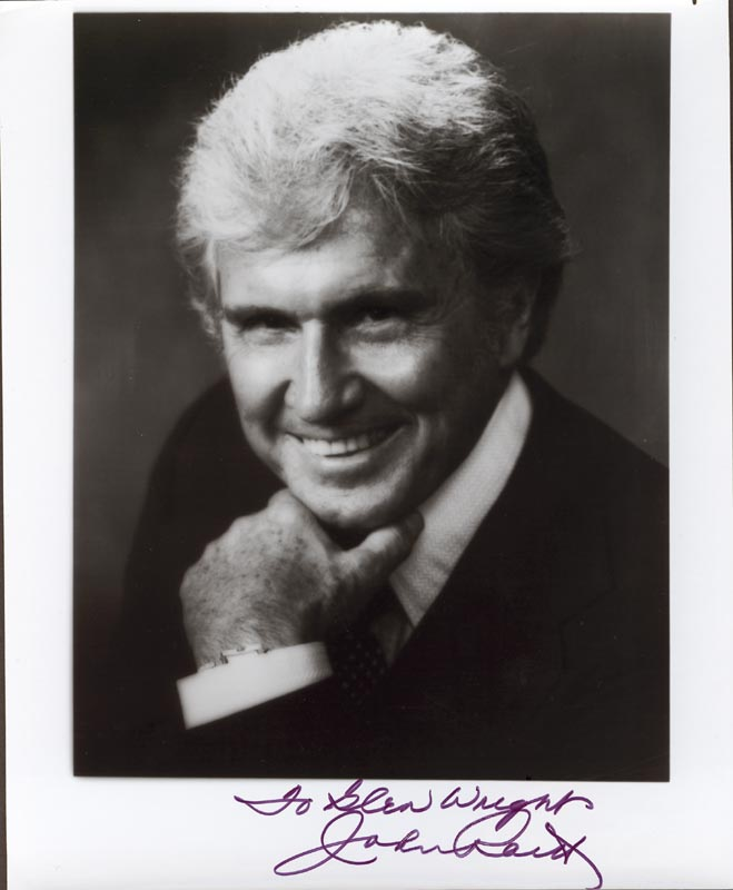 Image 1 for John Raitt - Autographed Inscribed Photograph - HFSID 56562