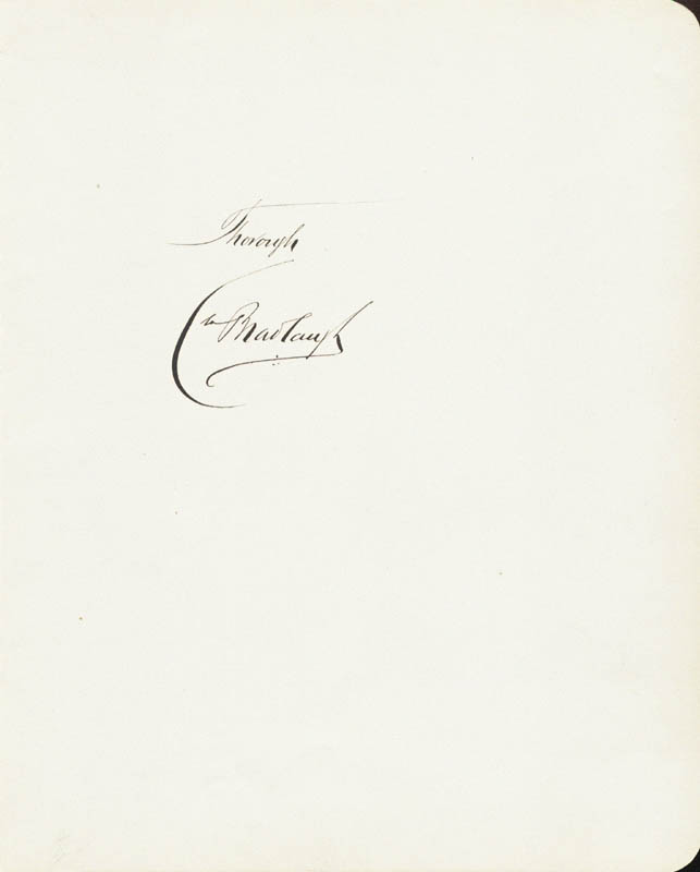 Image 1 for Charles Bradlaugh - Autograph Sentiment Signed - HFSID 56648
