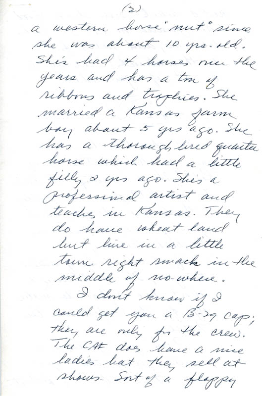 Image 5 for Enola Gay Crew (George R. Caron) - Autograph Letter Signed 10/12/1979 - HFSID 5718