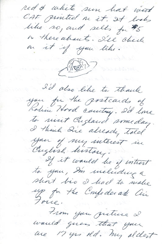 Image 6 for Enola Gay Crew (George R. Caron) - Autograph Letter Signed 10/12/1979 - HFSID 5718