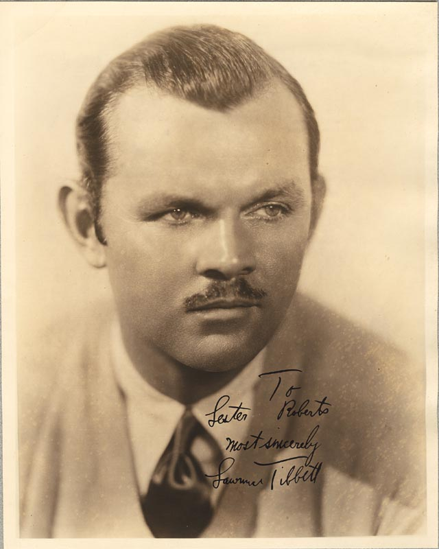 Image 1 for Lawrence Tibbett - Autographed Inscribed Photograph - HFSID 58981