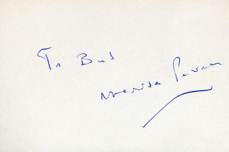 Image 1 for Marisa Pavan - Inscribed Signature - HFSID 59054