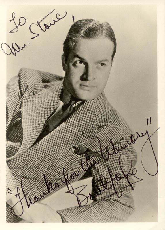 Image 1 for Bob Hope - Autographed Inscribed Photograph - HFSID 59360