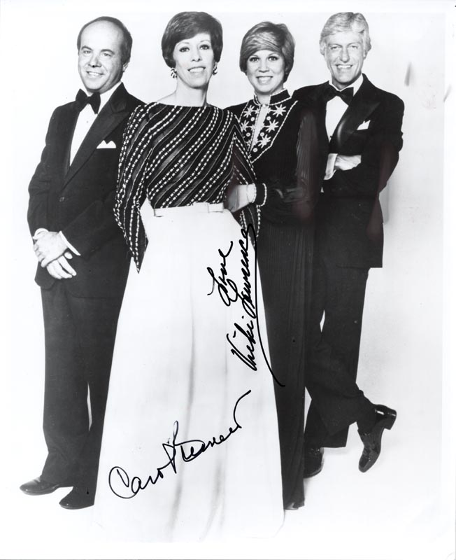 Image 1 for Carol Burnett - Autographed Signed Photograph co-signed by: Vicki Lawrence - HFSID 59372
