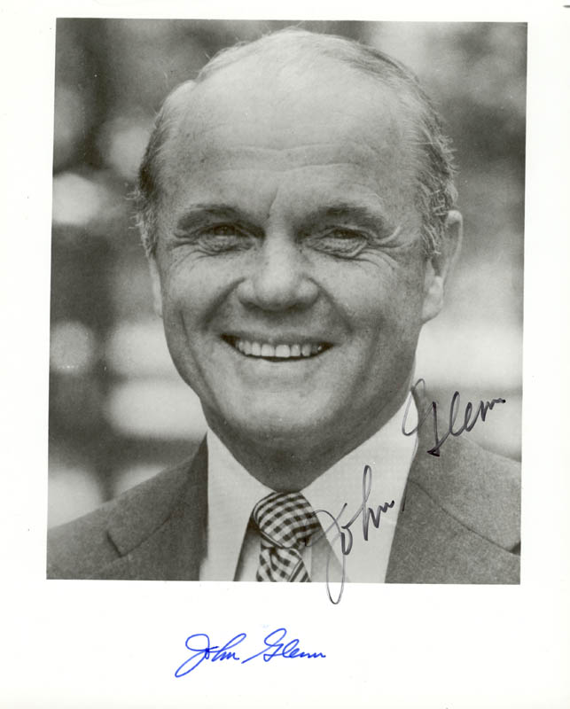 Image 1 for John Glenn - Autographed Signed Photograph - HFSID 5975