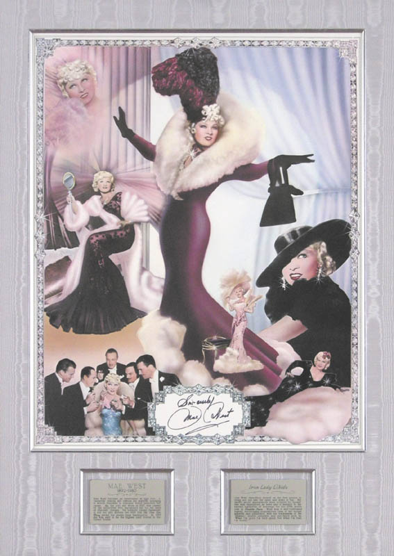 Image 1 for Mae West - Autographed Signed Poster - HFSID 62338