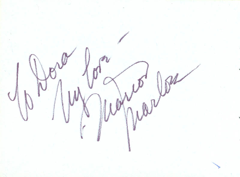 Image 3 for Polly Bergen - Autograph Note Signed Circa 1969 co-signed by: Marion Marlowe - HFSID 63455