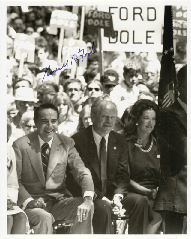 Image 1 for President Gerald R. Ford - Autographed Signed Photograph - HFSID 65558