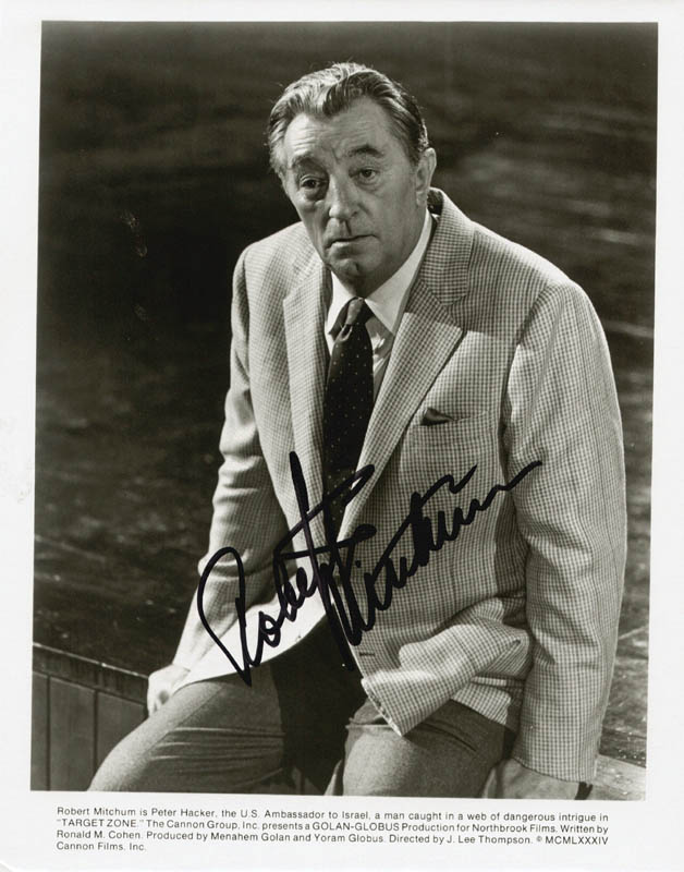 Image 1 for Robert Mitchum - Autographed Signed Photograph - HFSID 65807