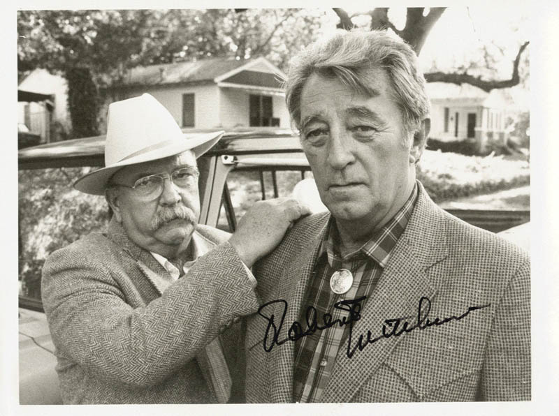 Image 1 for Robert Mitchum - Autographed Signed Photograph - HFSID 65842