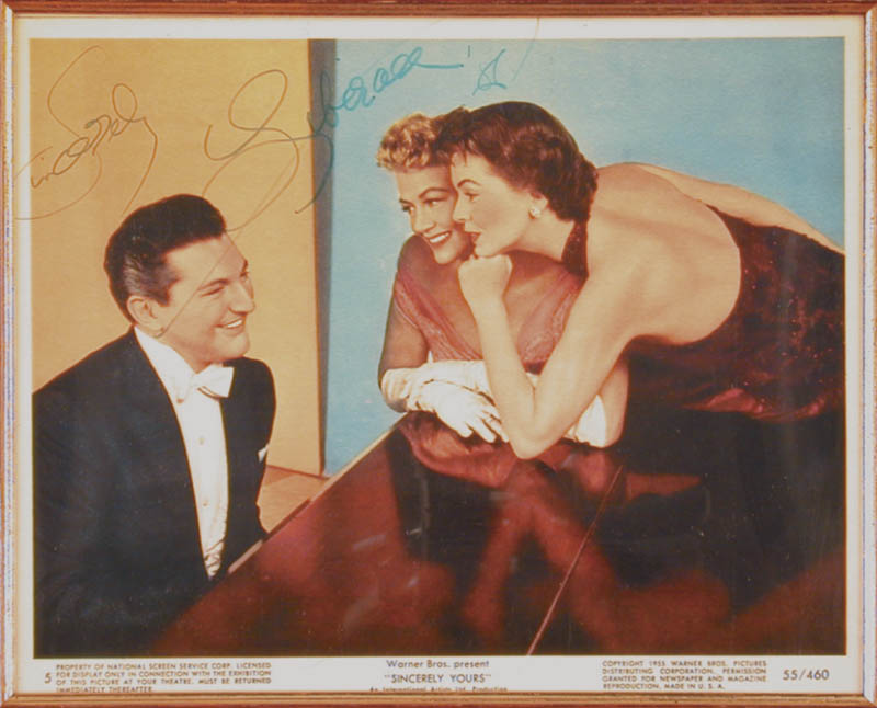 Image 3 for Liberace - Autographed Signed Photograph 1986 - HFSID 65854
