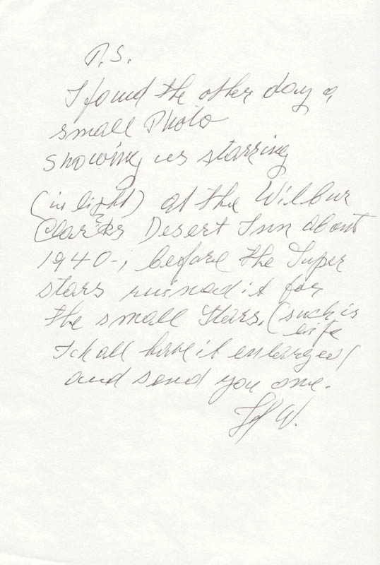 Image 3 for Harry Wiere - Autograph Letter Signed 07/17/1987 - HFSID 67339