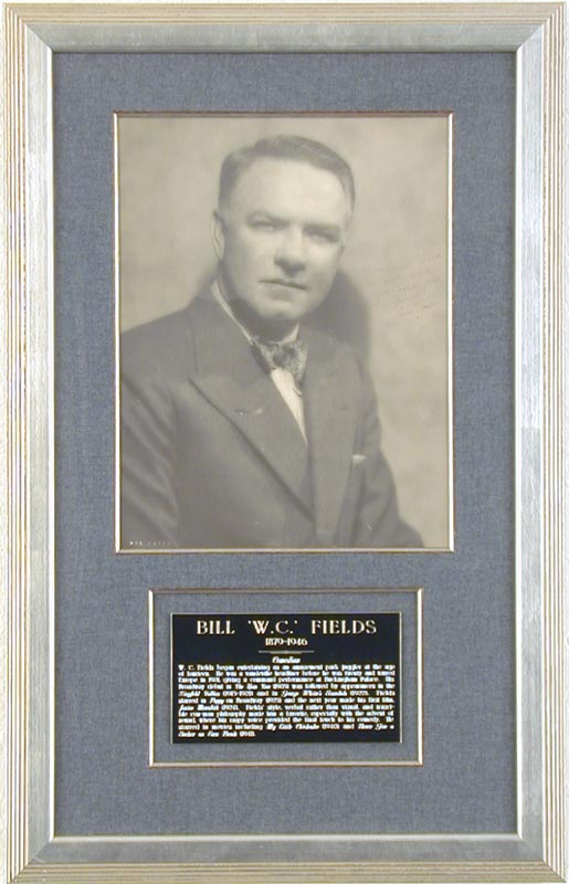 Image 1 for W. C. Fields - Autographed Inscribed Photograph - HFSID 67348