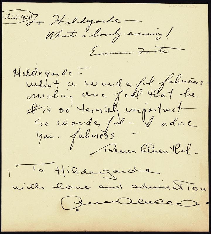 Image 3 for Dorothy Fields - Autograph Note Signed co-signed by: Vincent Miller Youmans, Emerson Foote - HFSID 67362