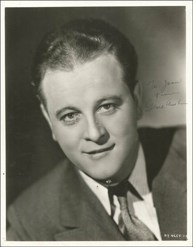 Image 1 for Gene Austin - Autographed Inscribed Photograph - HFSID 67405
